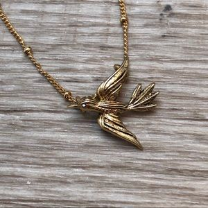 C+I Bird Necklace NWOT